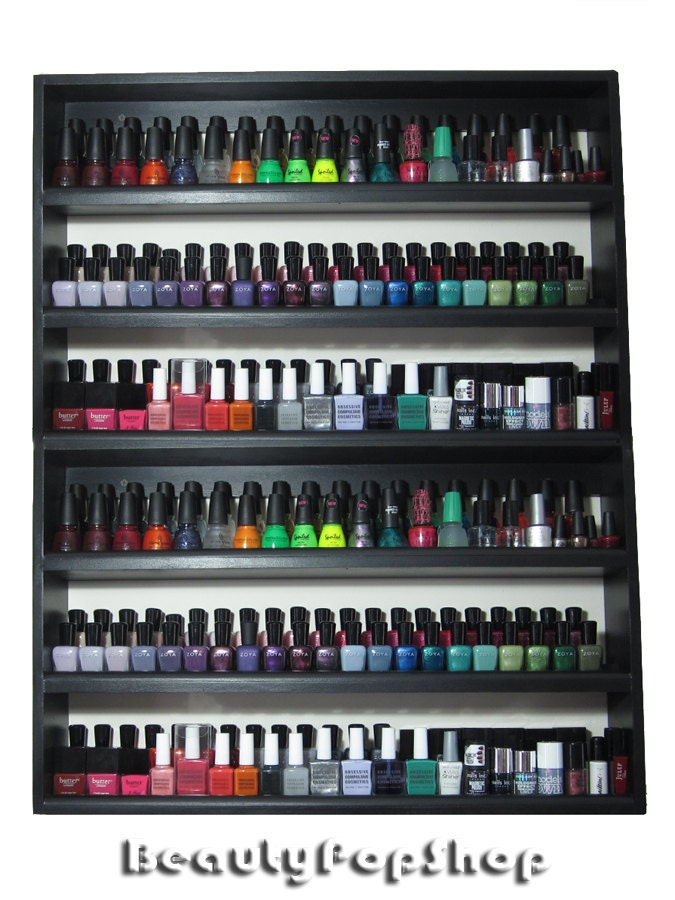 Super Large So Stacked Nail Polish Rack   Holds Over 200 Polishes