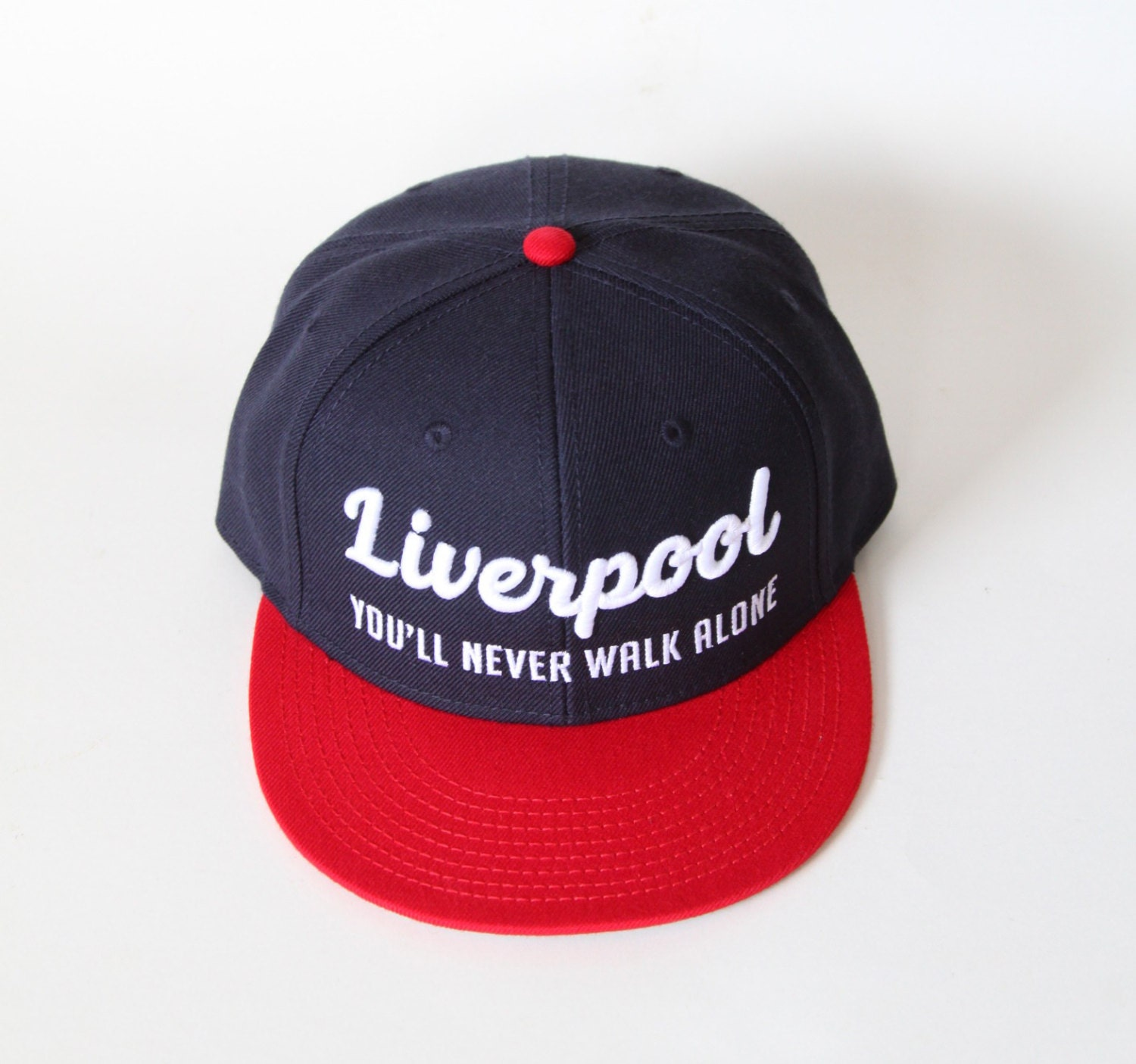 Liverpool Fc Snapback Hat Youll Never Walk Alone