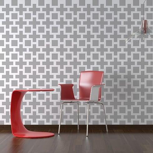 Pattern Stencils: Wallpaper & Wall Coverings | eBay