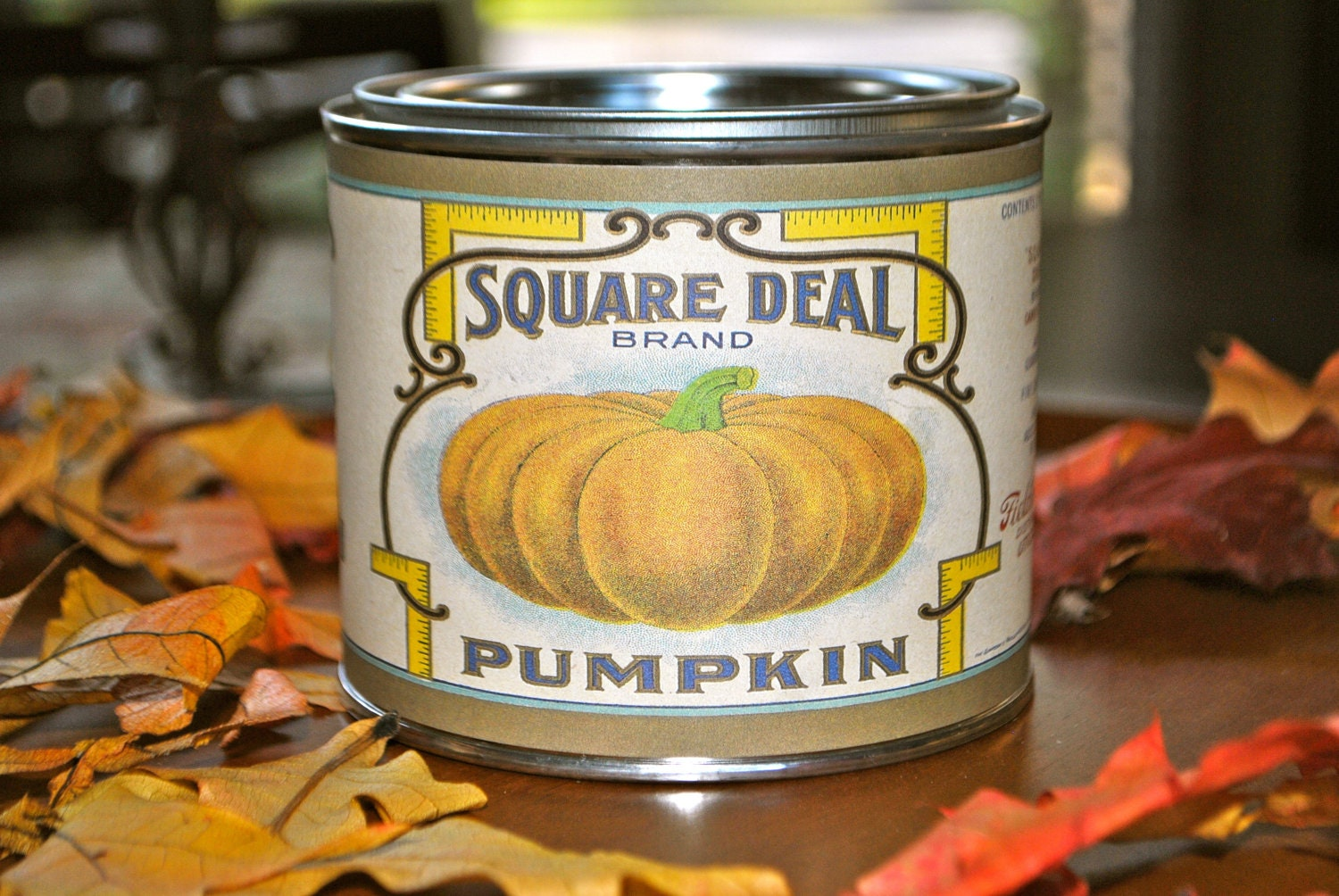 16 oz Sweet Pumpkin Spice- Square Deal by Simply Vintage Candles