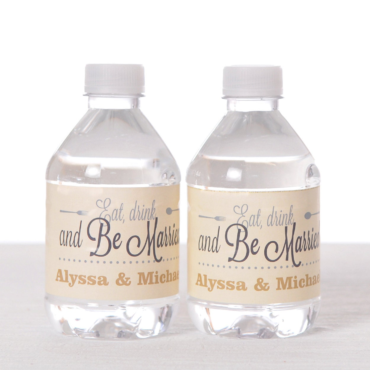 150 wedding water bottle labels personalized labels