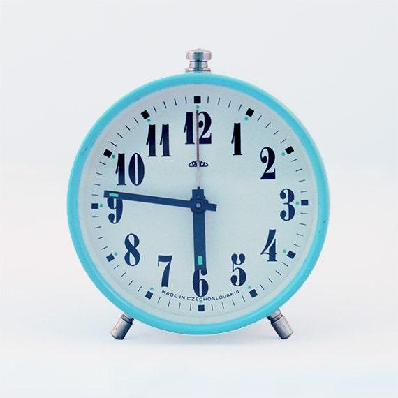 Sky Blue Alarm Clock - ProsteRzeczy