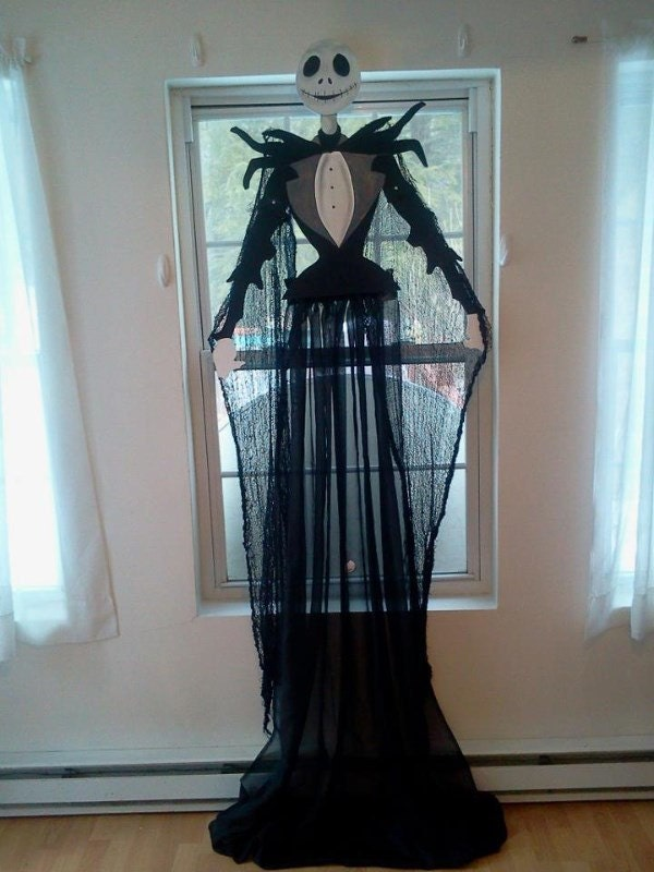 Nightmare Before Christmas Jack Curtain / Wall Prop by CanCreate