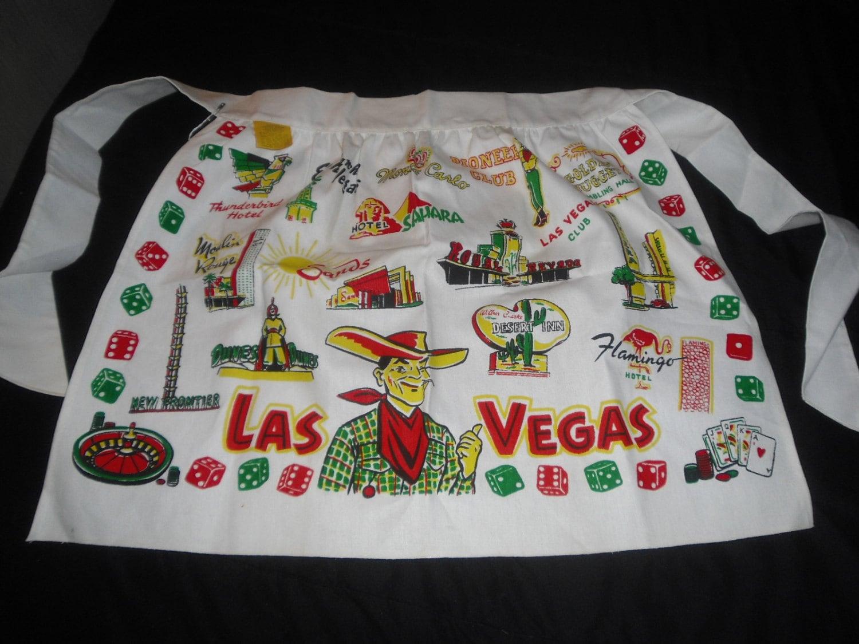 Rare New Old Stock Las Vegas Apron Vintage By Badgirlvintage