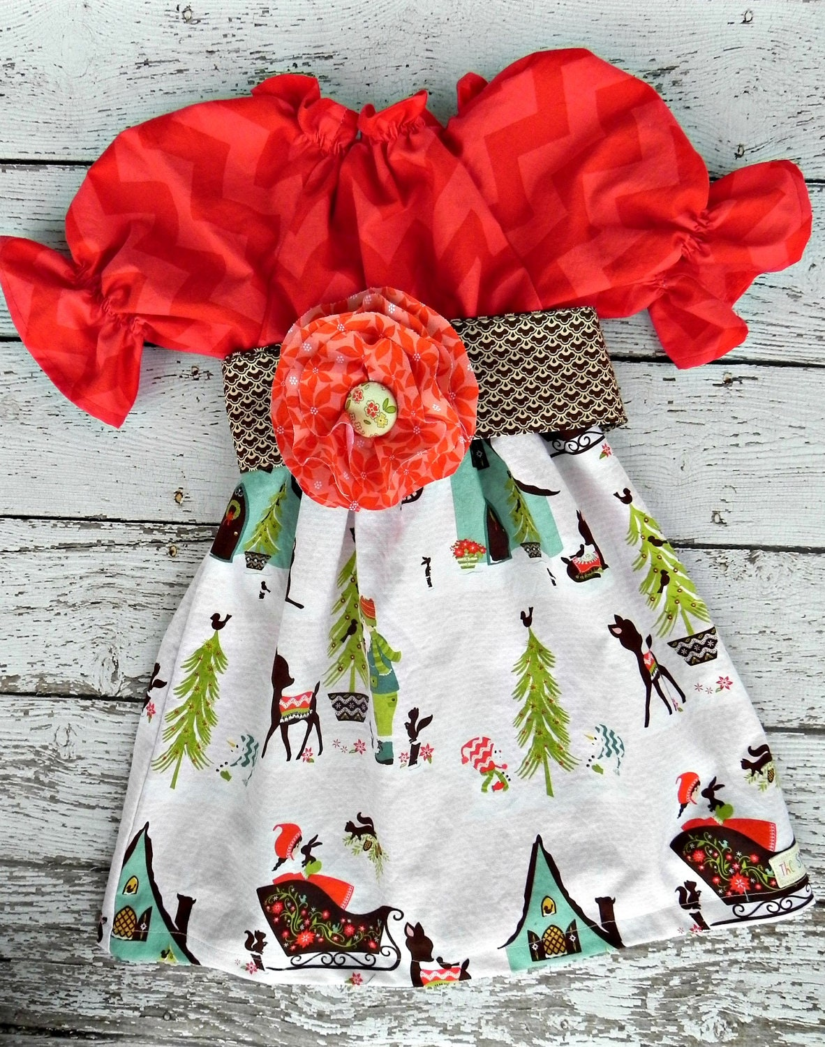 Toddler Christmas Dresses Boutique 54