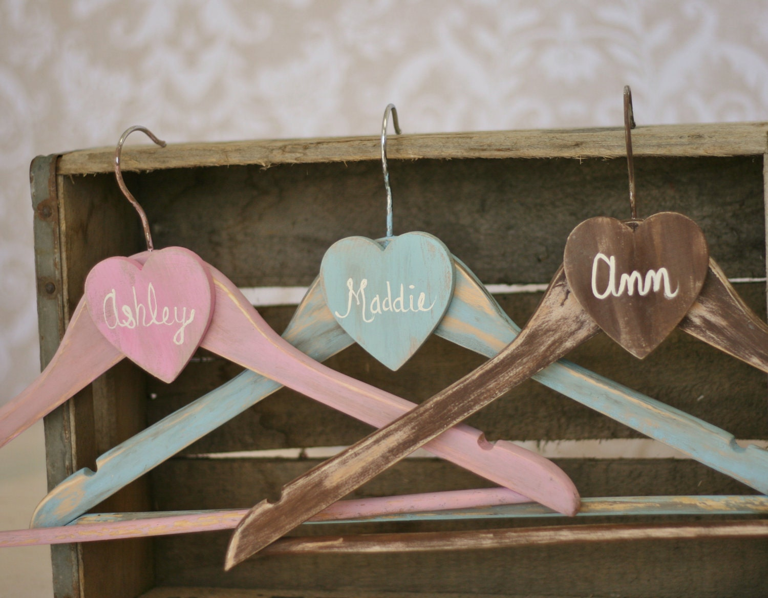 Personalized Wedding Hangers Bridesmaid Gifts