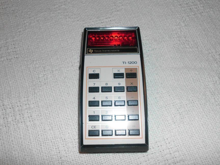 Vintage Pocket Calculator - tonyripley