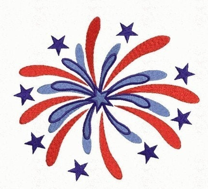 firework firecracker 4th of july embroidery designs by embroitique. Black Bedroom Furniture Sets. Home Design Ideas