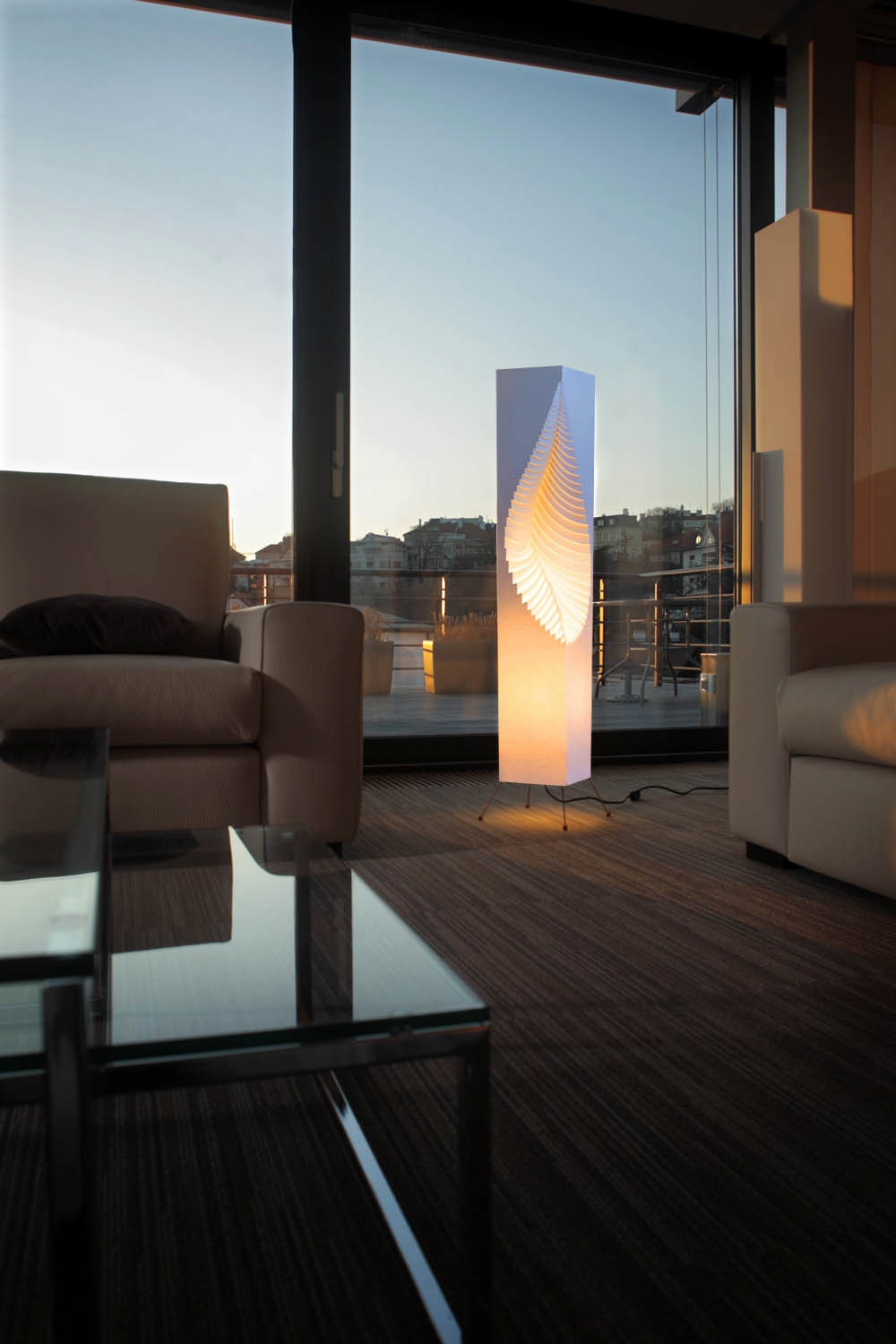 Leaf Floor Lamp - MooDoo