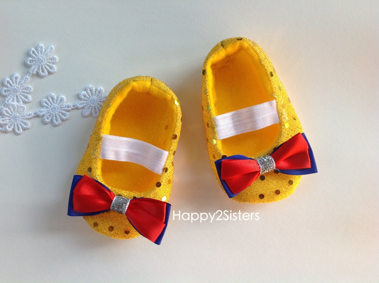 snow white baby shoes baby shoes soft by happy2sisters