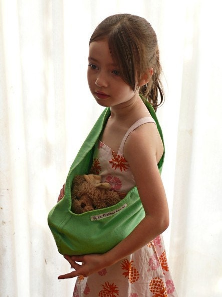 POUCH SLING for Dolls or Teddies suitable for children from 1-8yo