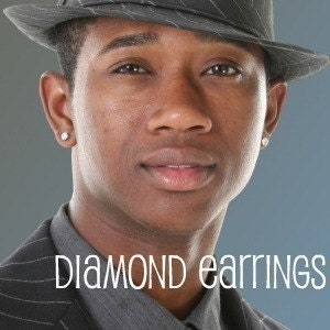 Mens diamond earrings edmonton