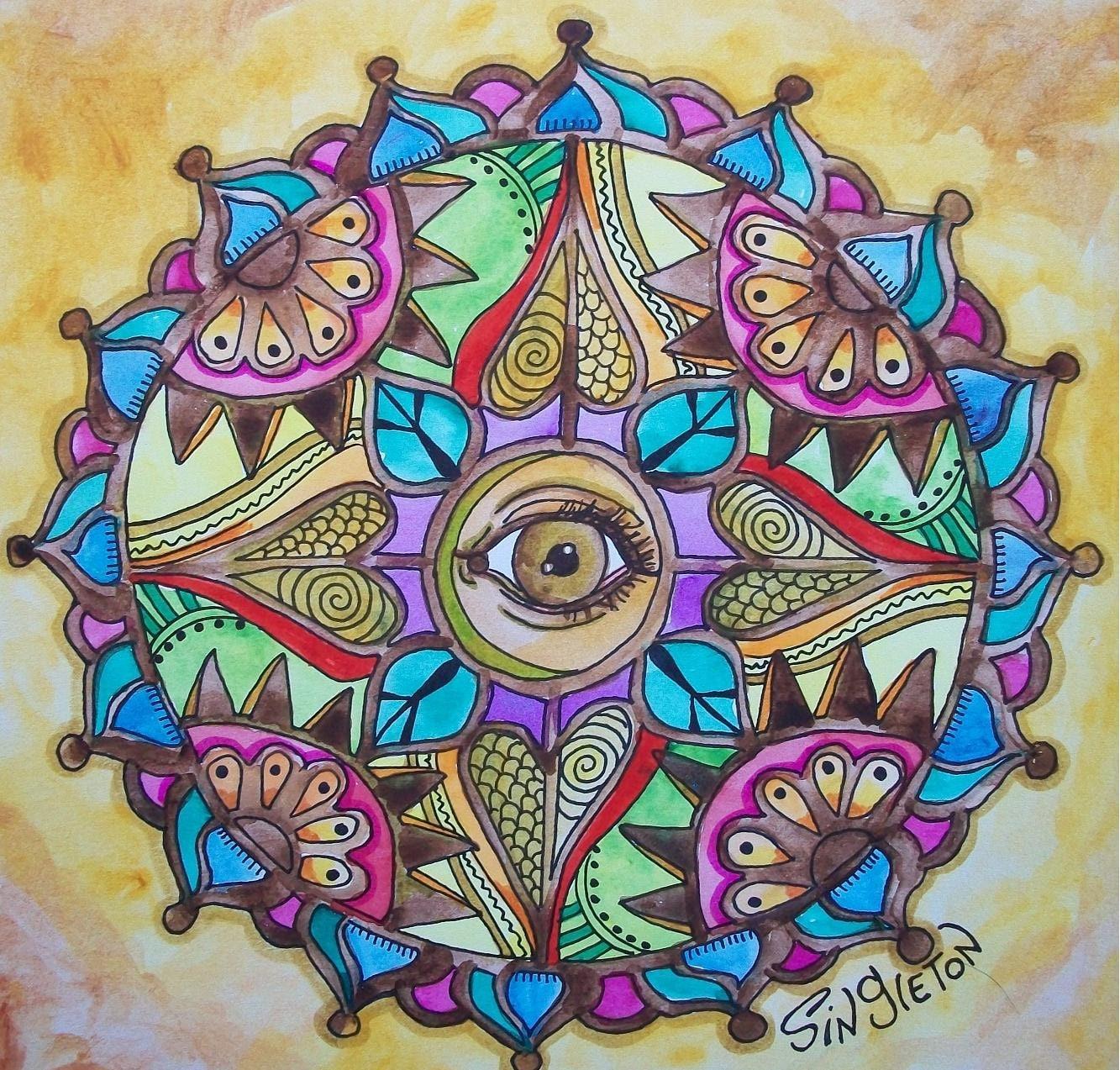 arte hippie taringa