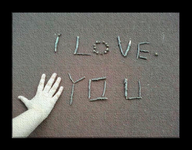 I Love You 5x7 Folded Greeting card