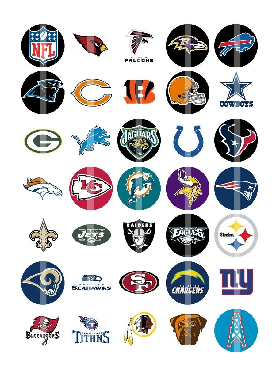 Nfl football teams logos