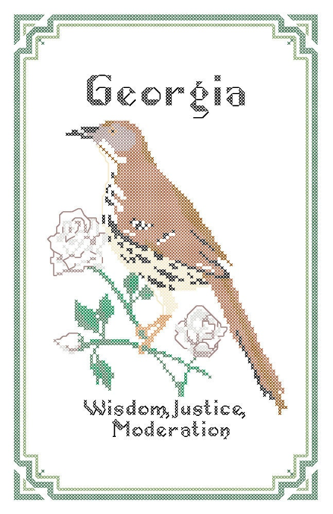 georgia state bird and flower - photo #7