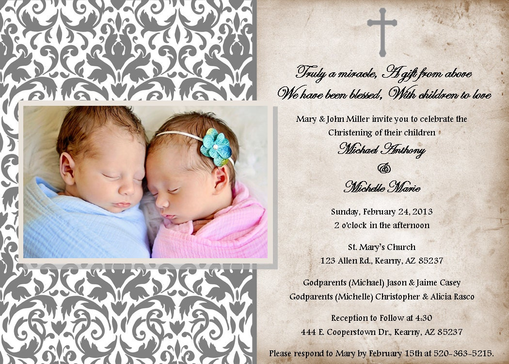 baby girl baptism invitations templates .