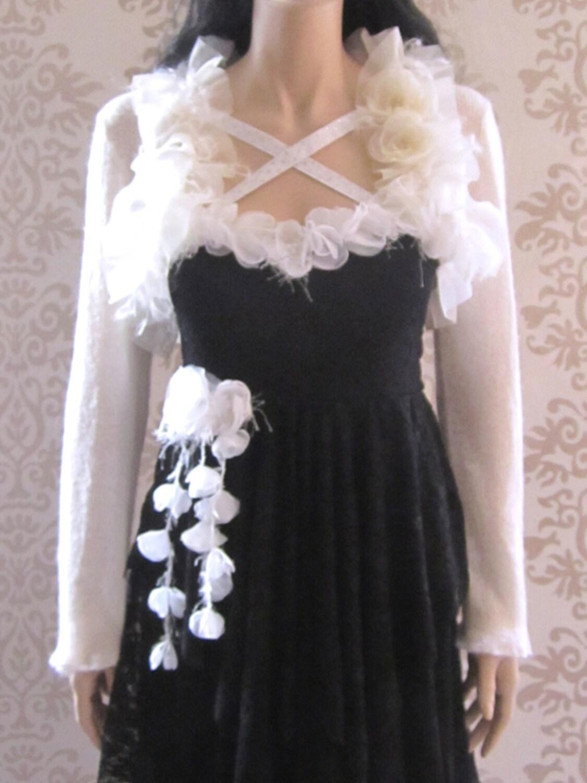 Bolero wedding dress bolero shrug alternative margie light cream