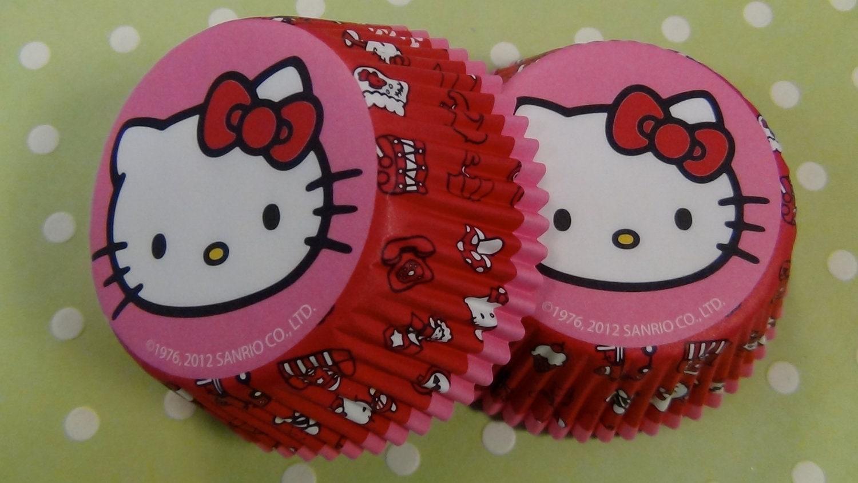 Hello Kitty Cupcake Graphic