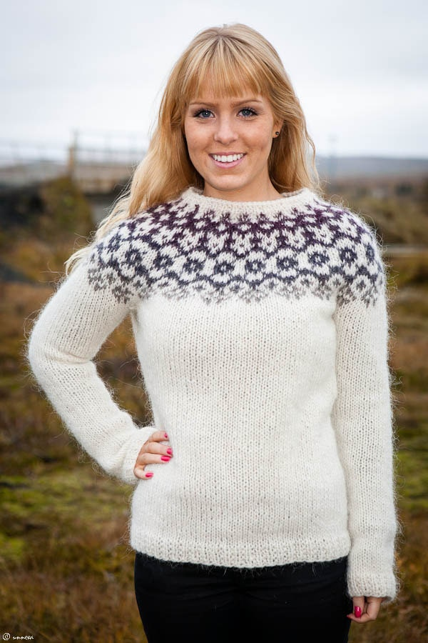 Icelandic Lopi Sweater Winter is coming by unneva on Etsy