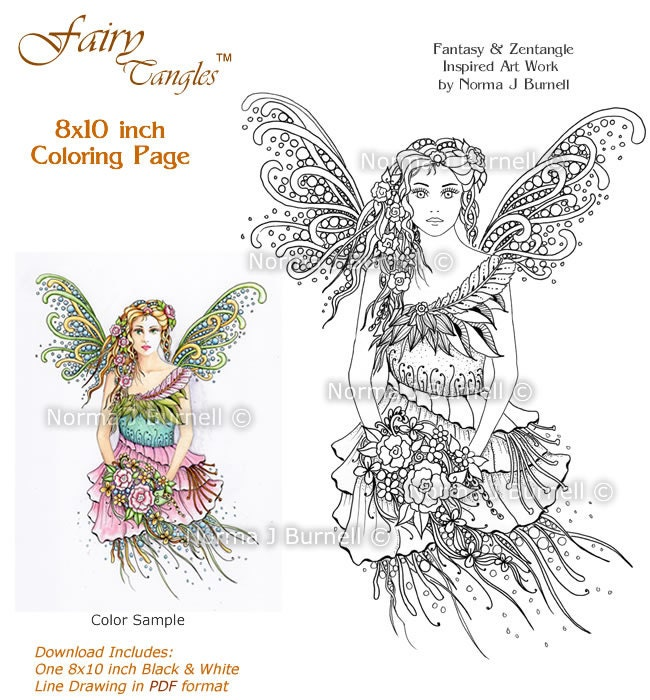 Adult colouring in sheets