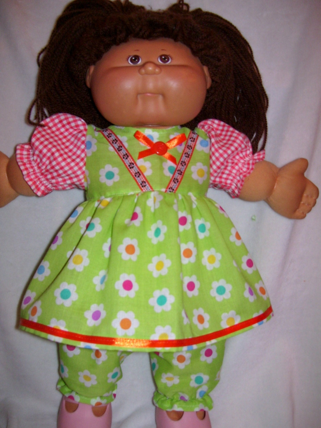 cabbage patch doll clothes dress and bloomers fits by