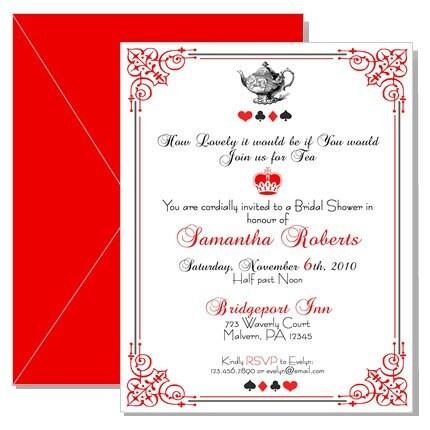 Mad Hatter Birthday Invitations for amazing invitation design