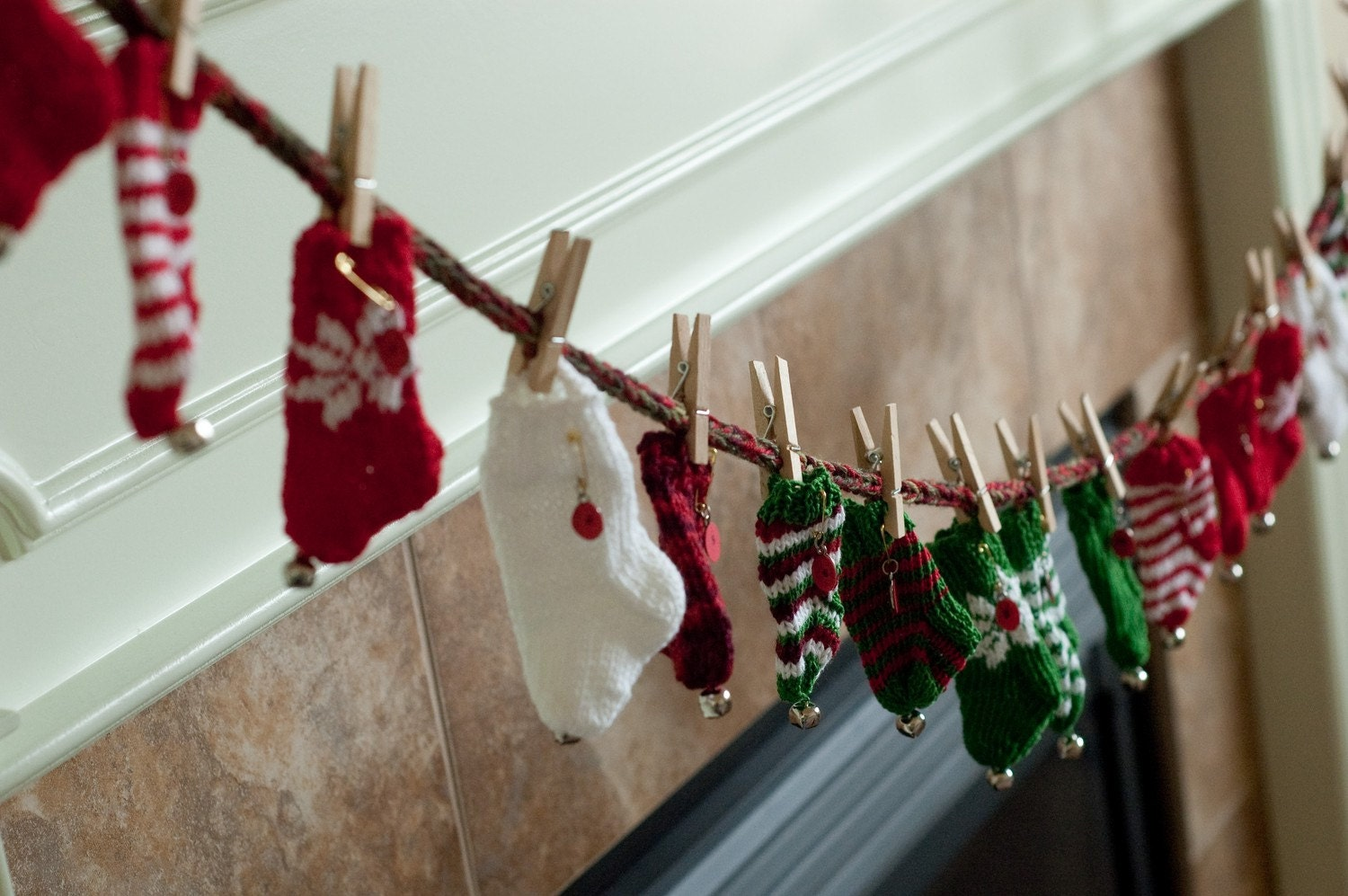 Christmas Advent Calendar-PDF Knitting Pattern