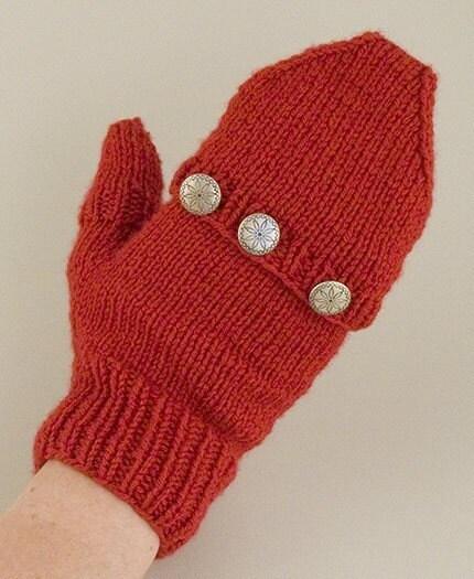 Convertible Mitten Knitting Pattern : DK Convertible Mitten Knitting Pattern PDF by FiberWild on Etsy
