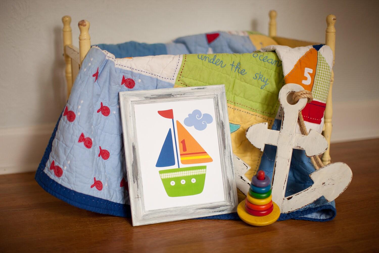 Popular items for boat nursery on Etsy