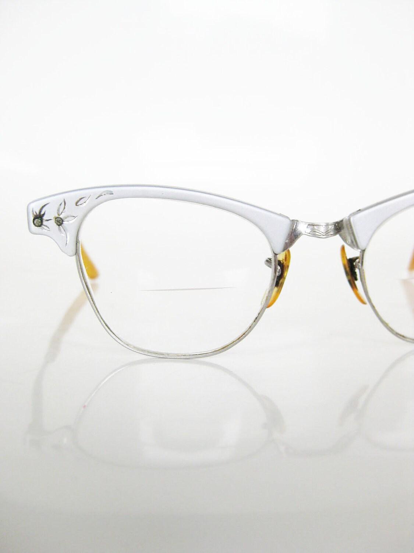Vintage cat eye art craft eyeglasses glasses by oliverandalexa for Art craft eyeglasses vintage