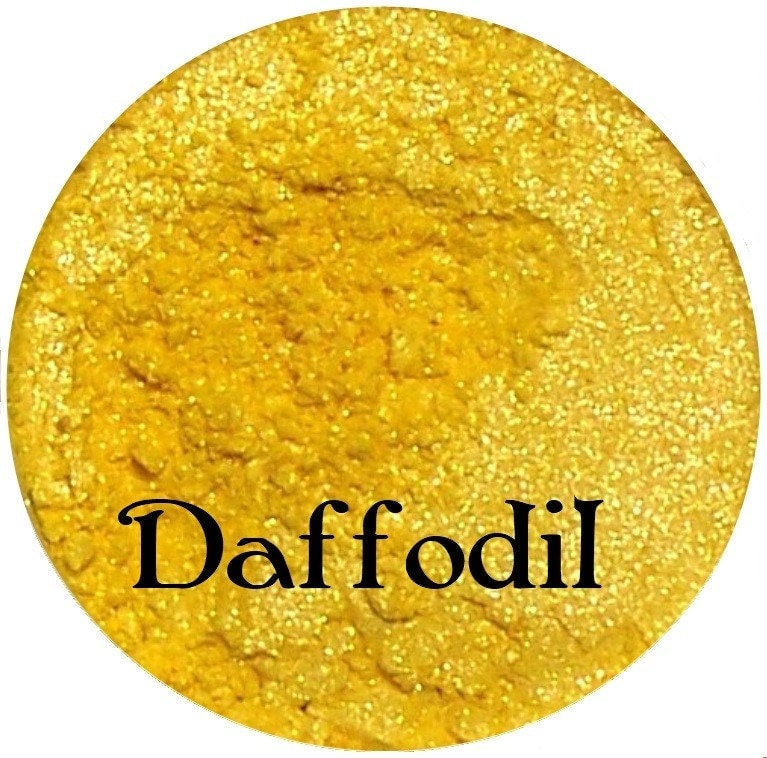 DAFFODIL Bright Yellow Eyeshadow Pigment 5 Gram Jar - SpectrumCosmetic