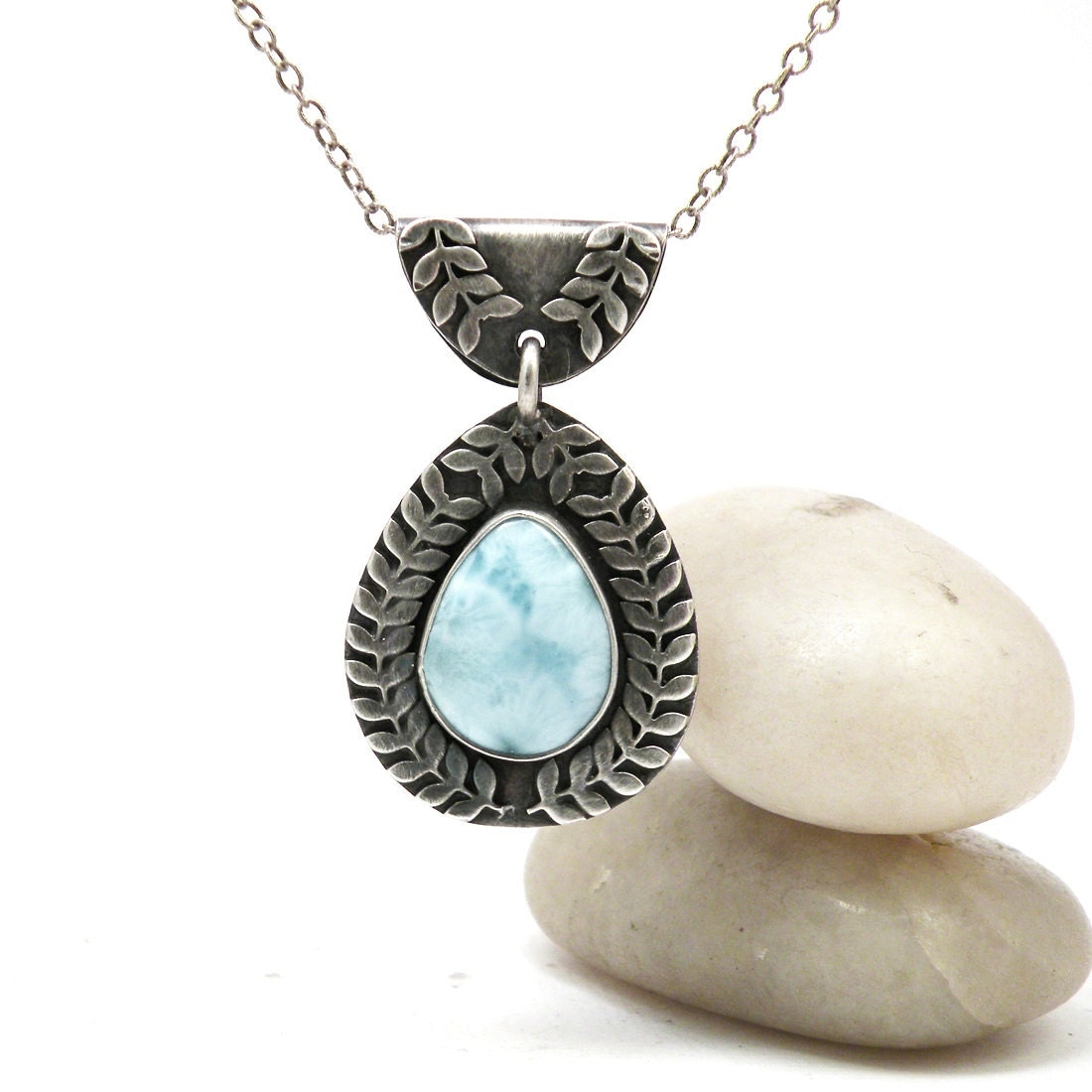 larimar jewelry pendant heaven larimar