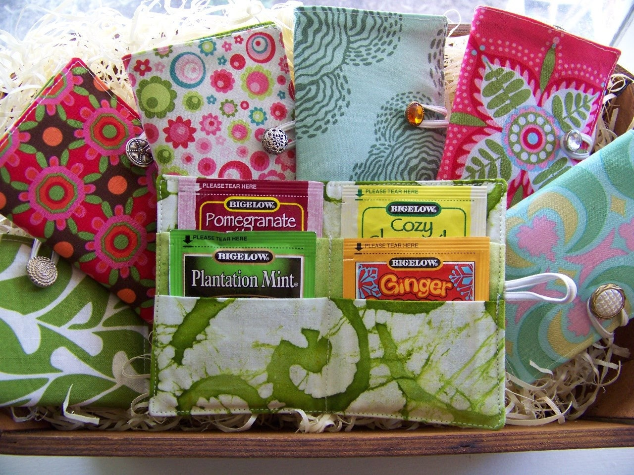 Baby Shower Gifts Under 10 Dollars ~ Tea time wallets great hostess gift by