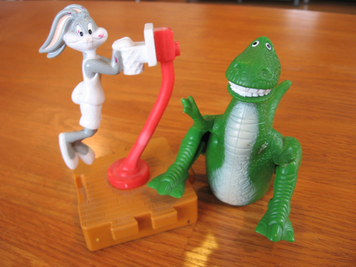 1990 S Toys : S set of mcdonalds toys story and space by