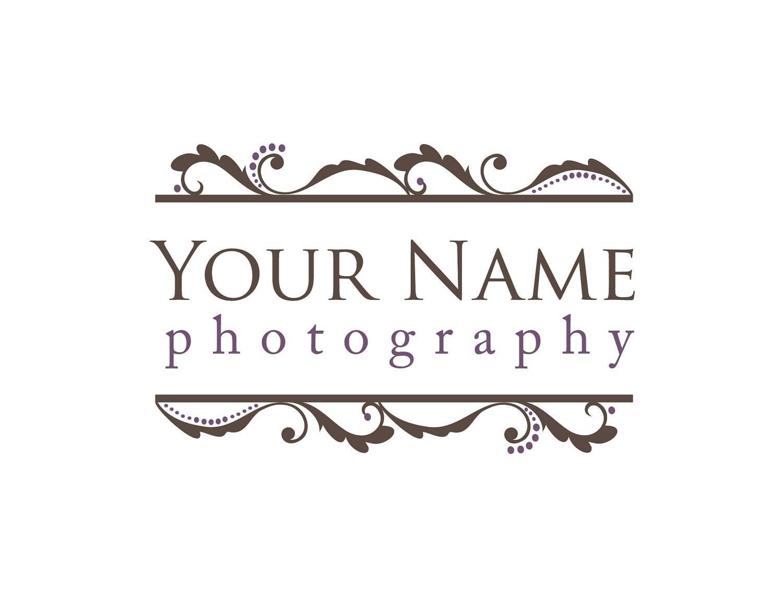 Photography Logo & Watermark Pre-made for by KayleeBugDesign