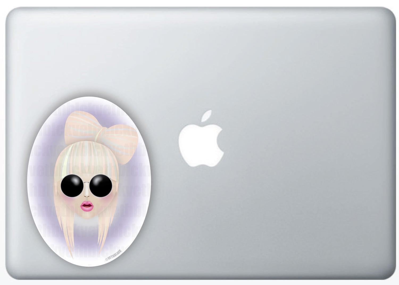 Poker Face Gaga, Sticker