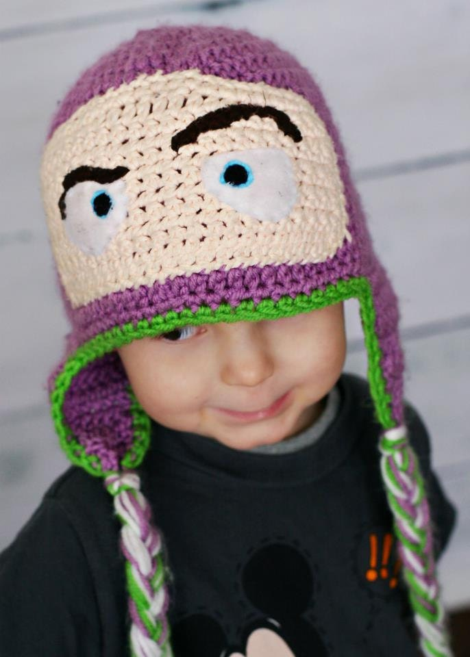 To Infinity and Beyond-Buzz Lightyear Crochet Hat by swachica