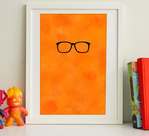 "Half-Life inspired print 11X17"""
