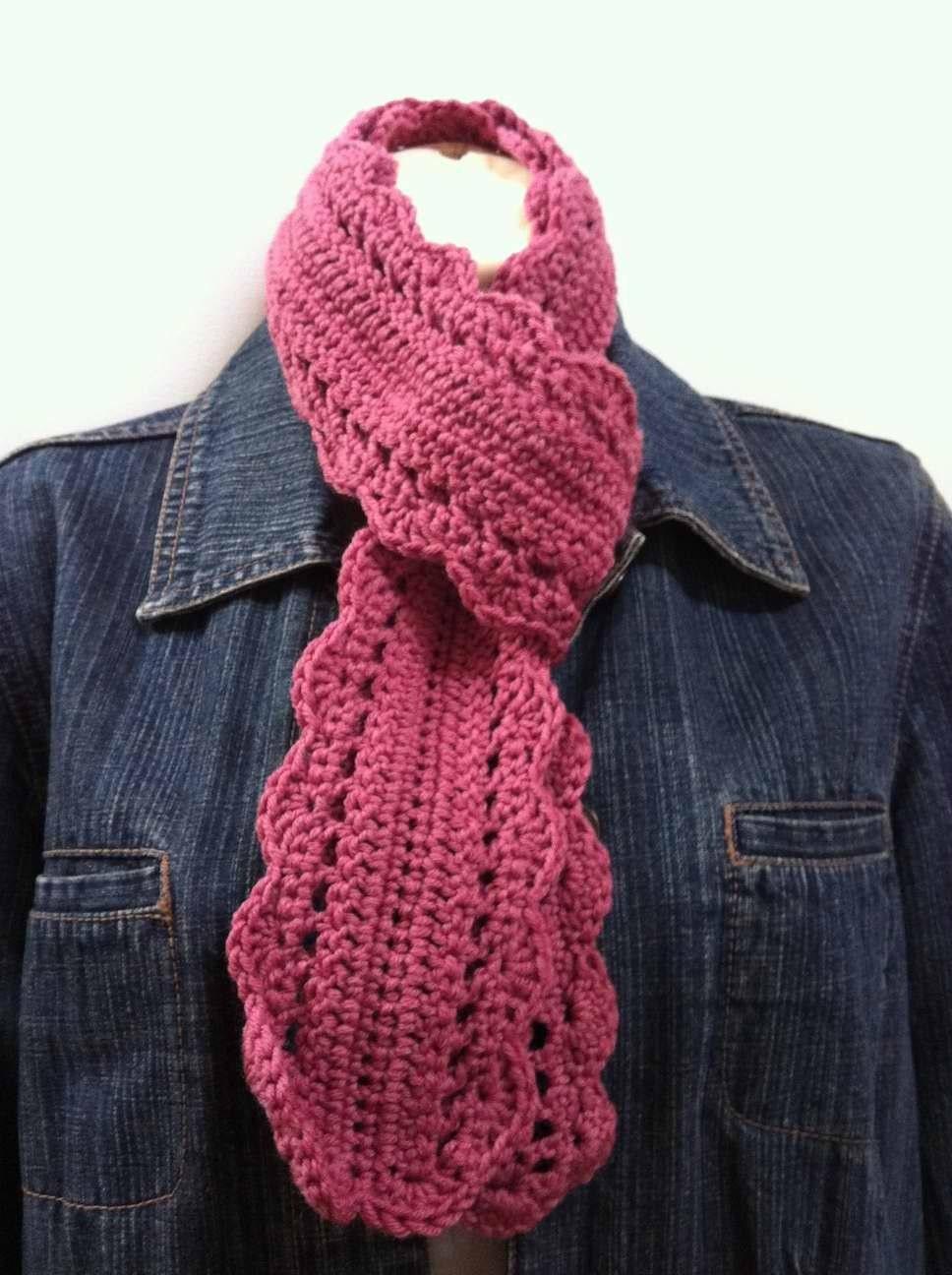 Skinny Scarf Crochet Pattern No.508 Emailed2U by ...