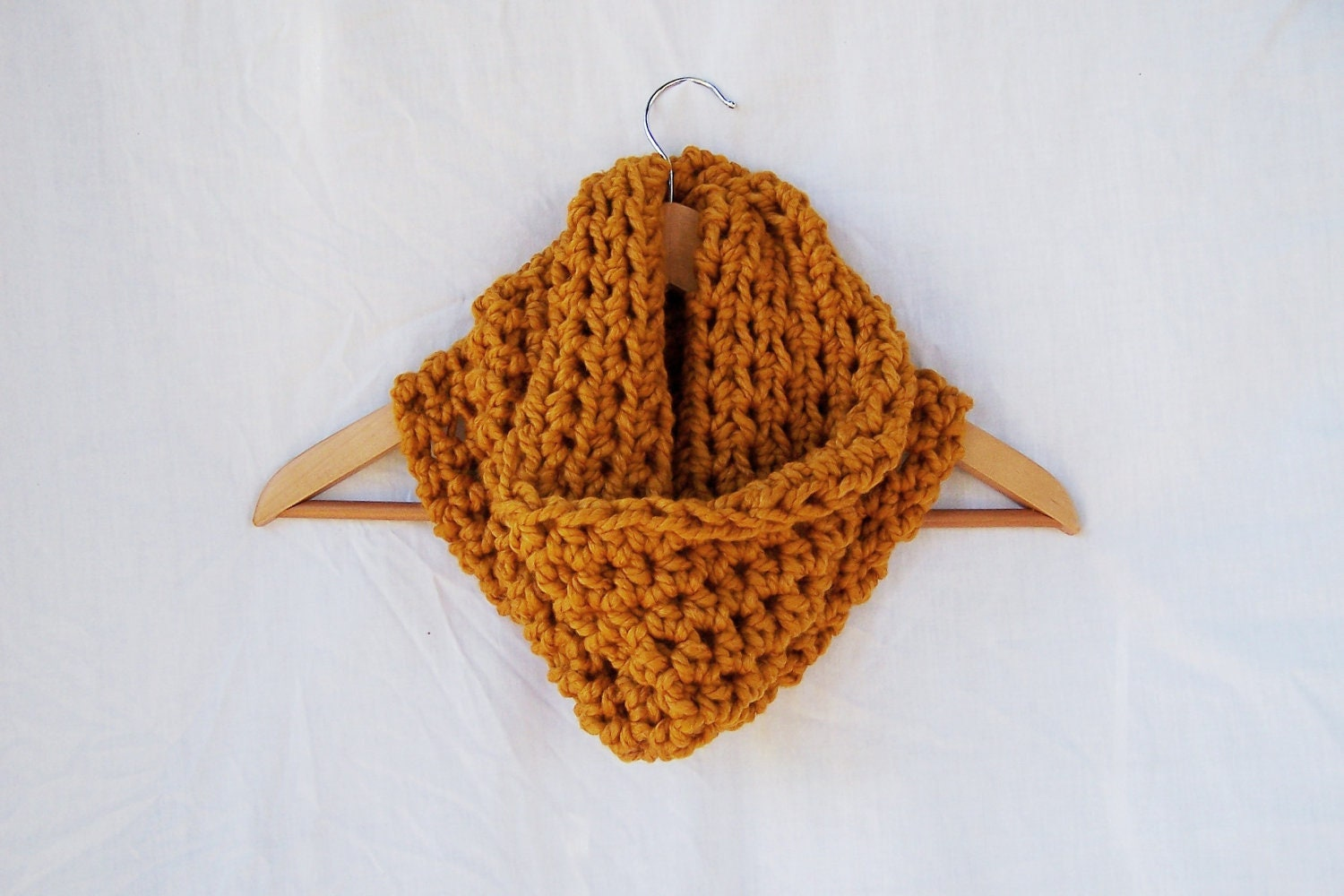 Crochet scarf cowl neck warmer handmade hand crocheted acrylic wool  Cowl Neck Scarves Crochet