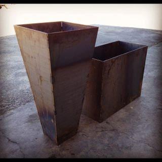 Steel Planters - Engrain