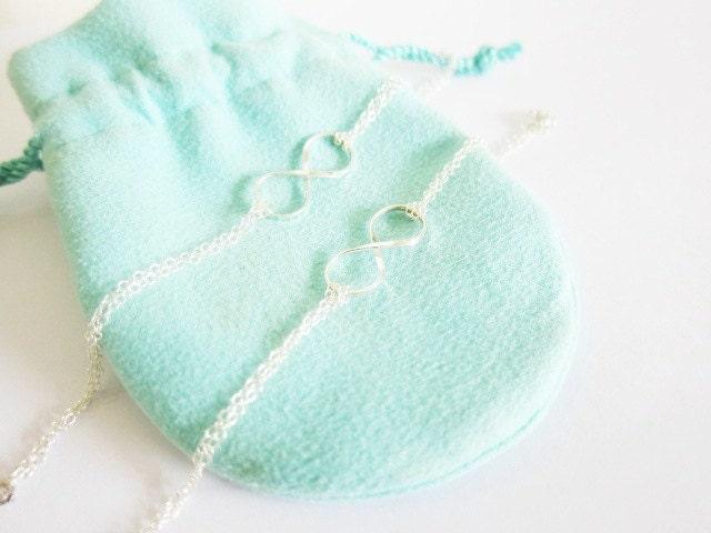 Tiffany Inspired Infinity Necklace Tiffany Co.inspired Infinity