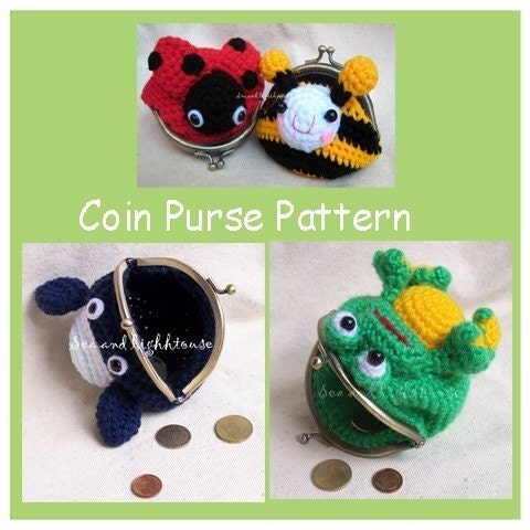 Repeat Crafter Me: Crochet Watermelon Coin Purse