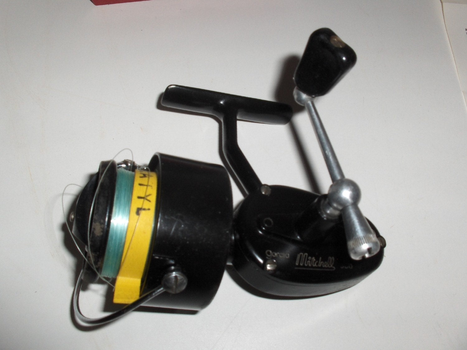 Vintage mitchell garcia 300 spinning reel by thetoolroom for Old mitchell fishing reels