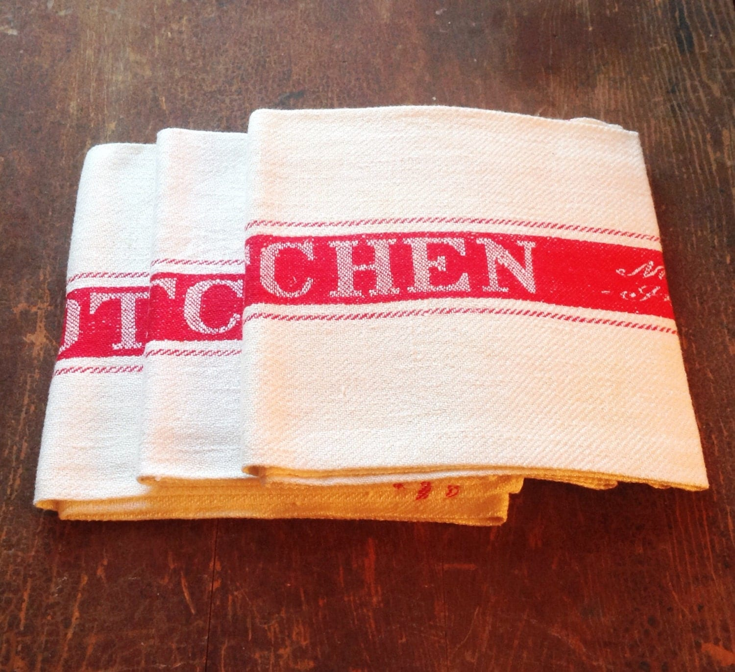 Old fashioned tea towels 34