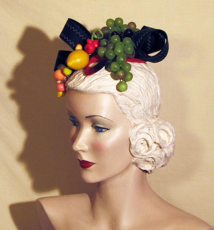 how to make fruit hat carmen miranda