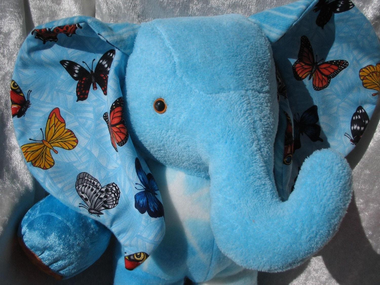 Home Decor Elephant Butterflies De Luxe By Tallhappycolors