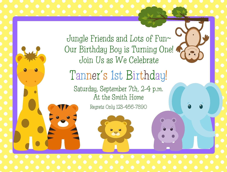 birthday invitation cards models - Etame.mibawa.co