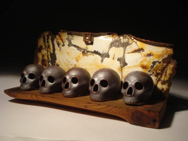 Skull Bucket Study